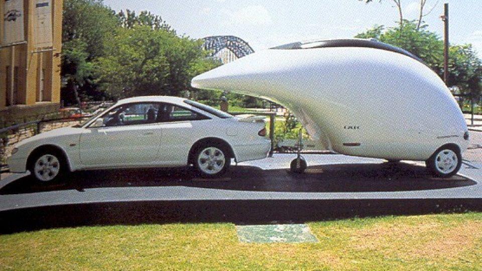 Prototyp oceněný v soutěži Museum of Contemporary art v Sydney