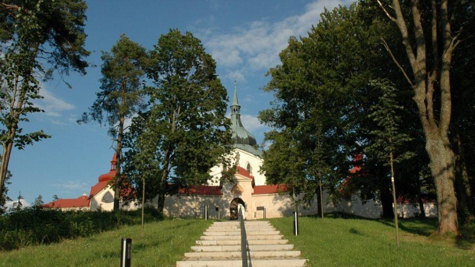 Jan Blažej Santiny-Aichl (1667 - 1723): Zelená Hora. Foto: Tomáš Vránek, www.tomasvranek.cz