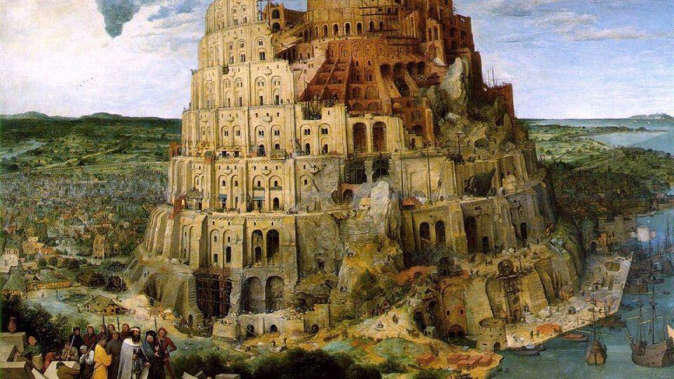 Pieter Breugel (asi 1525-1569): Babylónská věž