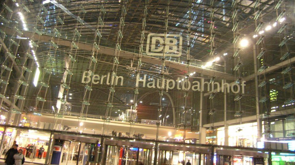 Hlavní nádraží v Berlíně