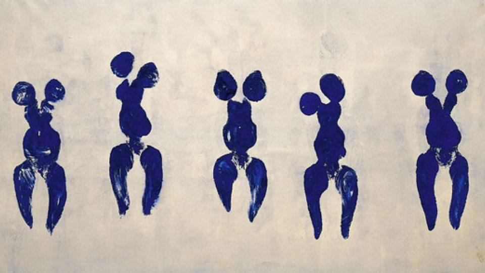 Antropometrie z modrého období (1960)