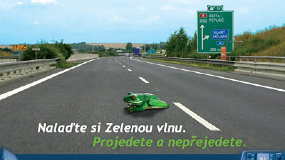 reklama Zelené vlny