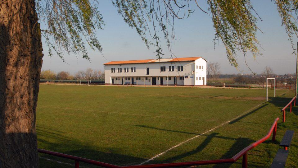 Hřiště místního klubu AFK