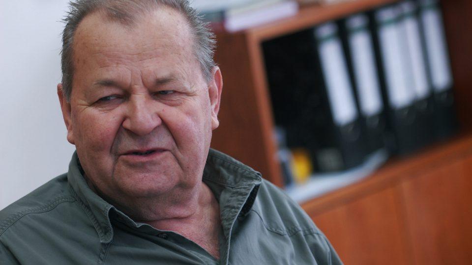 Myslivce a rybáře zastupoval při natáčení Posvícení Otakar Štěpánek