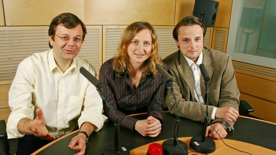 Moderátoři nového Radiofóra (21 x 14 cm)