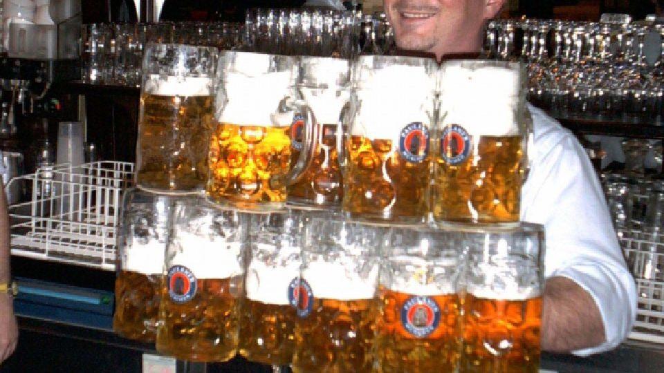 Pivo milují všichni američtí potomci Evropanů