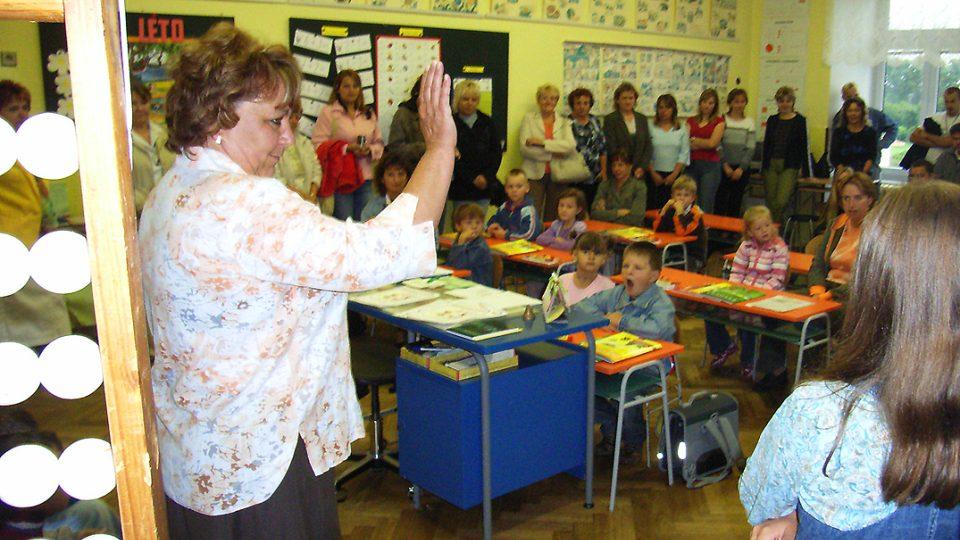 Zahájení školního roku 2007-2008 v semínské základní škole - 1.