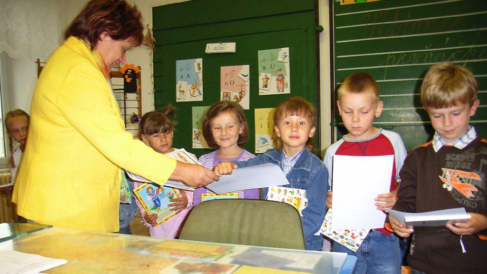 Zahájení školního roku 2007-2008 v semínské základní škole - 3.