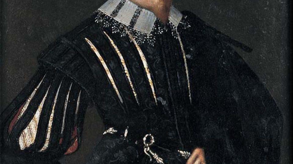 Středoevropský malíř: Portrét Albrechta Václava Eusebia z Valdštejna (sbírky Valdštejnského paláce, Praha)