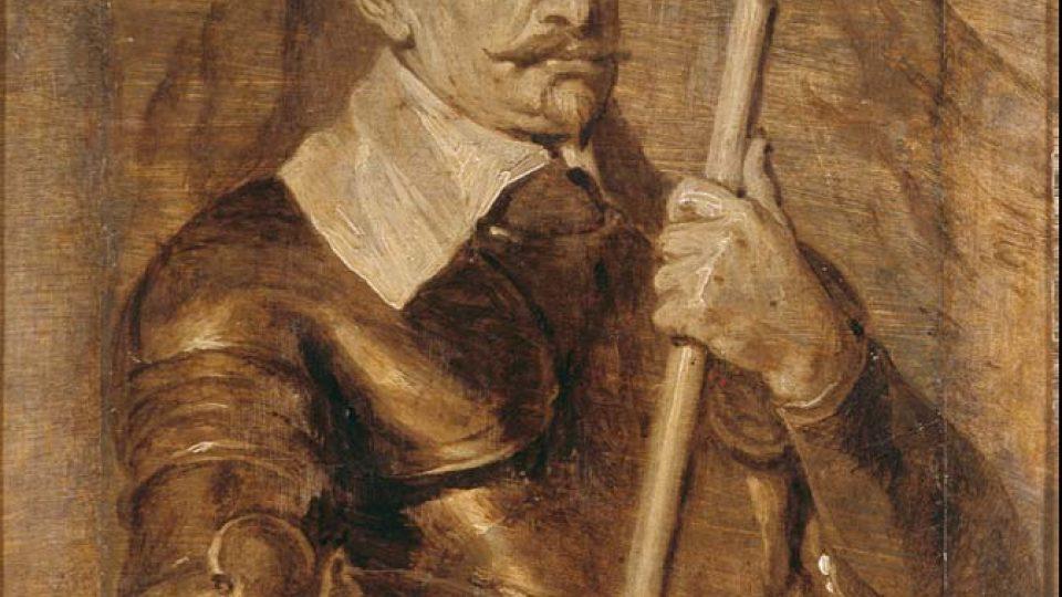 Van Dyckova dílna: Albrecht Václav Eusebius z Valdštejna (Mnichov, Bayerische Staatsgemäldesammlungen)