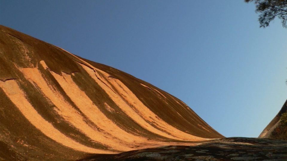 Skály na Nullarbor Plain