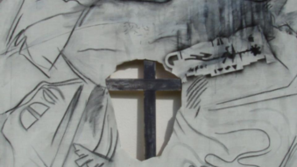 Milan Knížák: Kalvarie, 2006-07 /  Výstavní síni Mánes (výstava Práce z poslední doby)