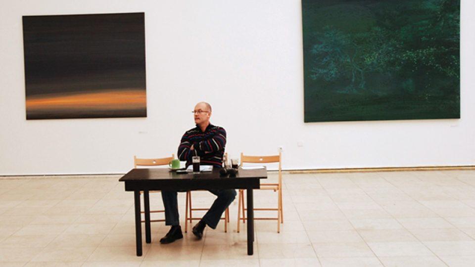 """Výstava Jan Pištěk """"Malá retrospektiva 1987 - 2007"""" / Výstavní síň Mánes / 6. 2. 2008 - 29. 2. 2008"""