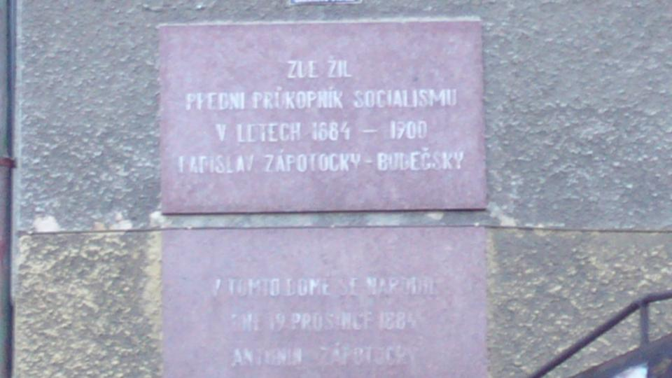 Rodný dům Antonína Zápotockého