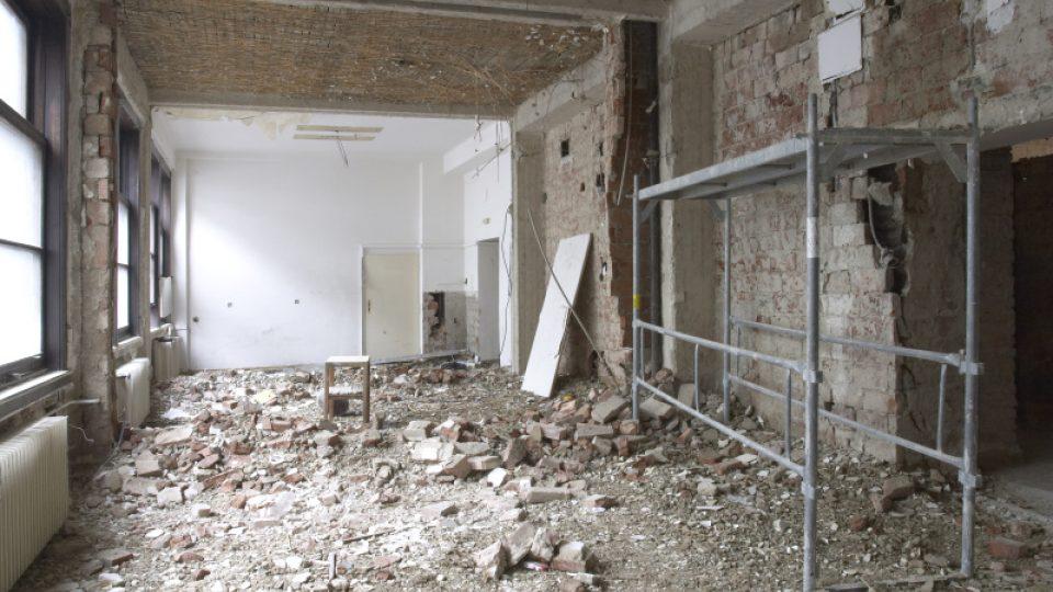 I. etapa rekonstrukce duben 2004