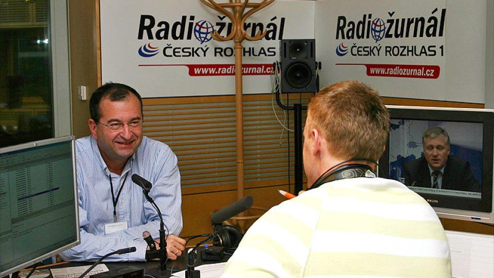 Cyril Höschl a Jiří Chum
