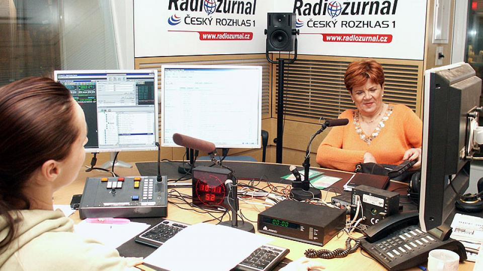 Zuzana Baudyšová přišla do studia