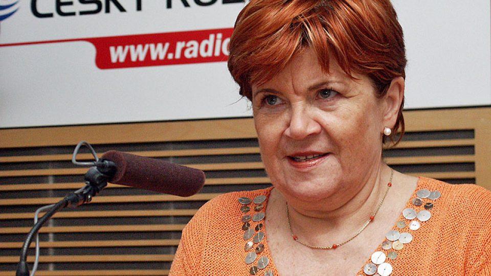 Zuzana Baudyšová, ředitelka Nadace naše dítě