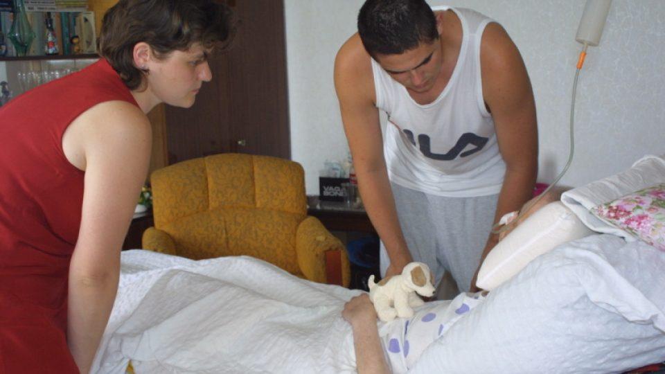 Pacient hospicu Cesta domů