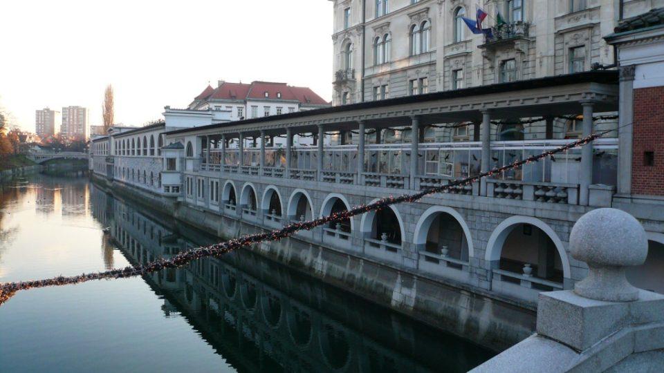 Tržnice v Lublani