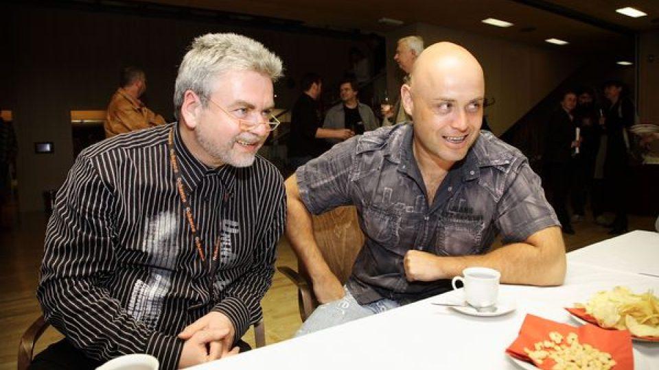 Zdeněk Vrba a Petr Šiška