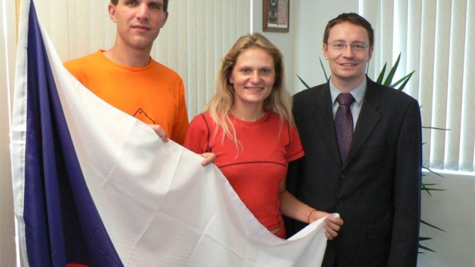S konzulem Vítem Kolářem