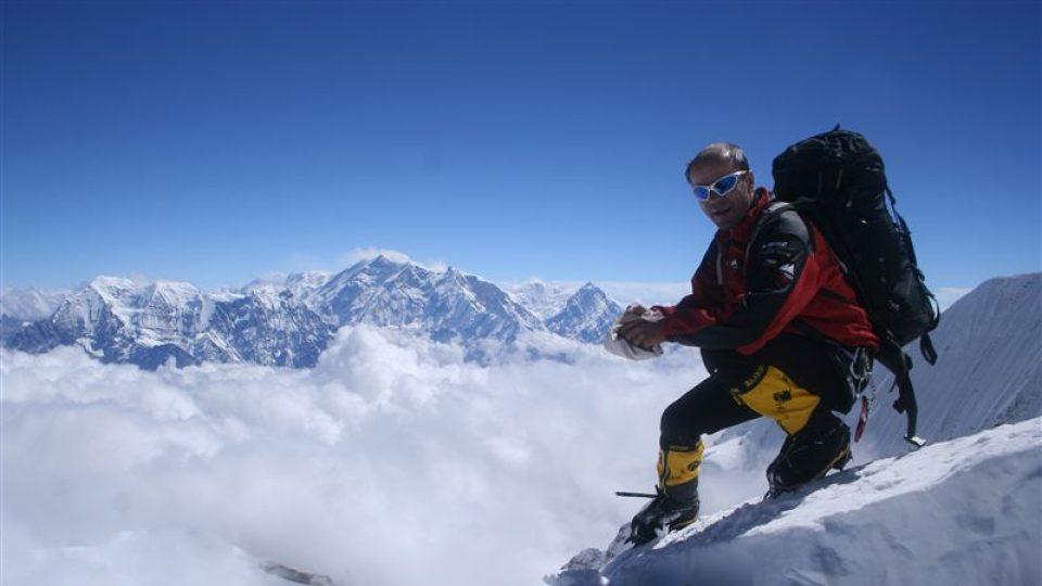 Radek Jaroš stanul na vrcholu Dhaulagiri