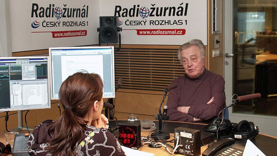 Skladatel a pedagog  Ilja Hurník