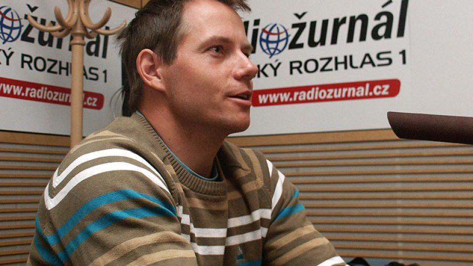 Lyžař Tomáš Kraus přibližuje