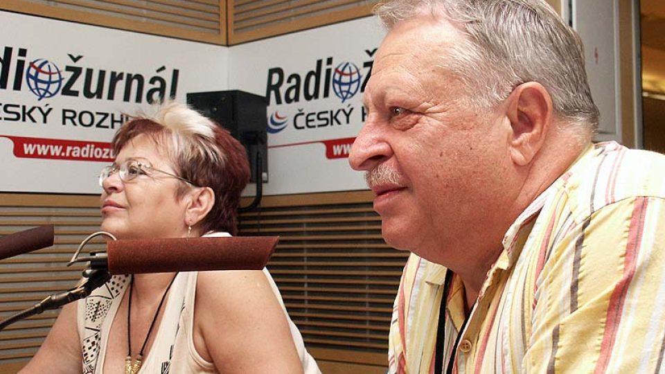 Alena a Jaroslav Klempířovi hovoří