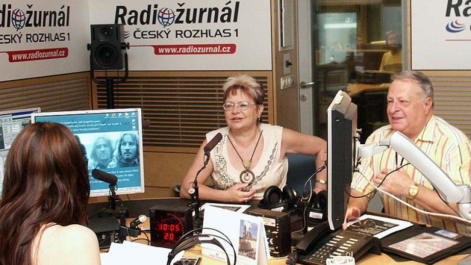 Alena a Jaroslav Klempířovi se baví