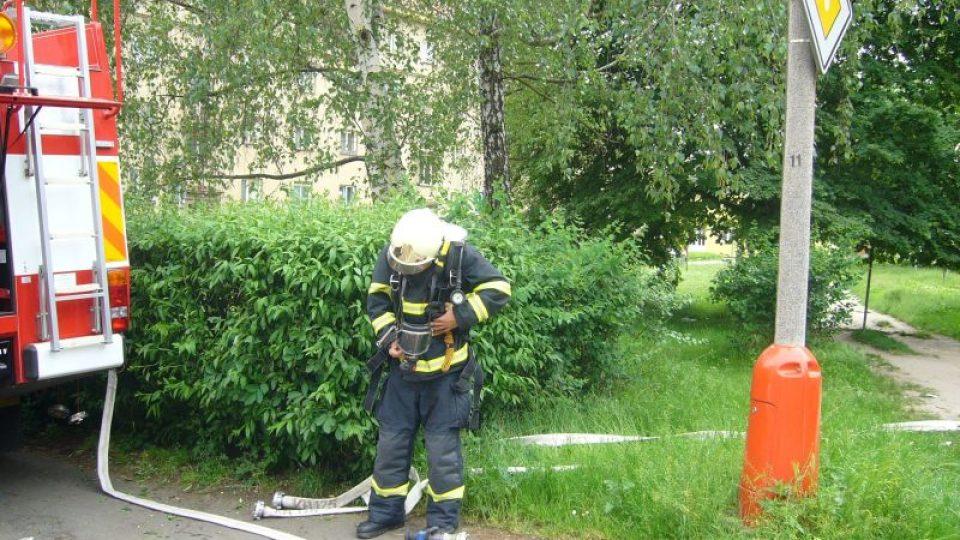 Kutnohorští hasiči cvičili zásahy u požárů
