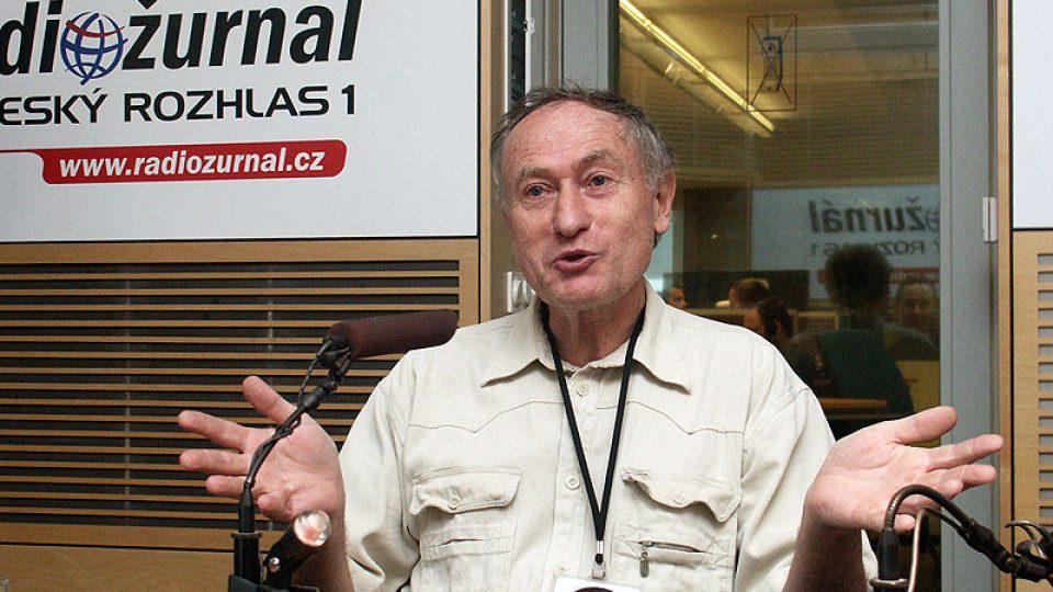 Etnograf  Mnislav Zelený hovoří