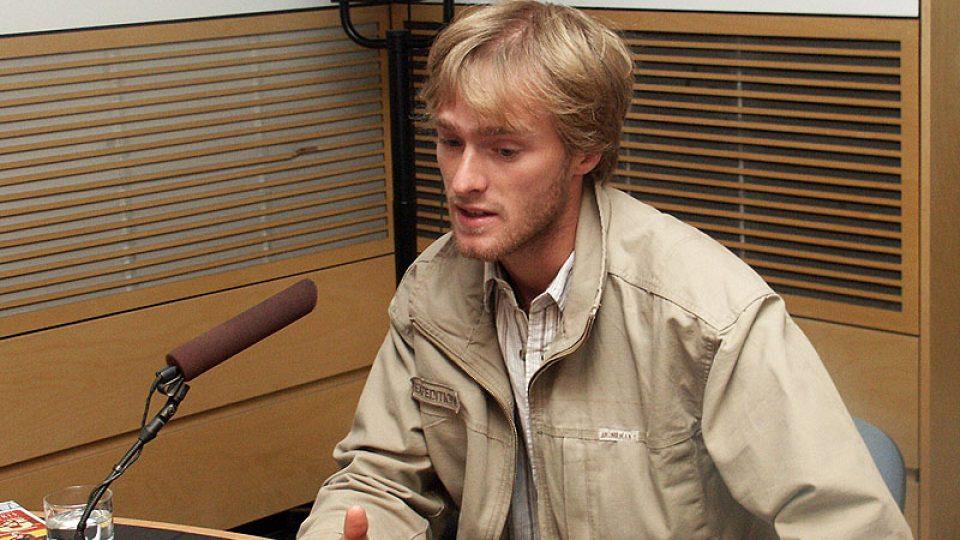 Jakub Vágner mluví
