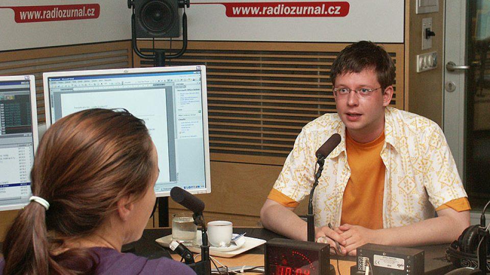 Moderátor Aleš Cibulka
