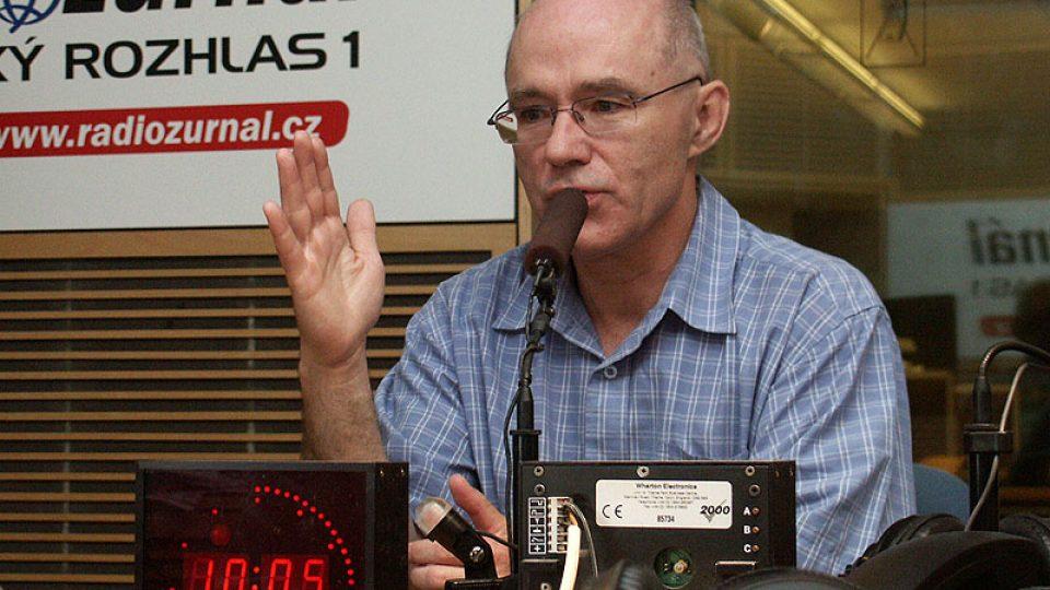 Jiří Straus mluví