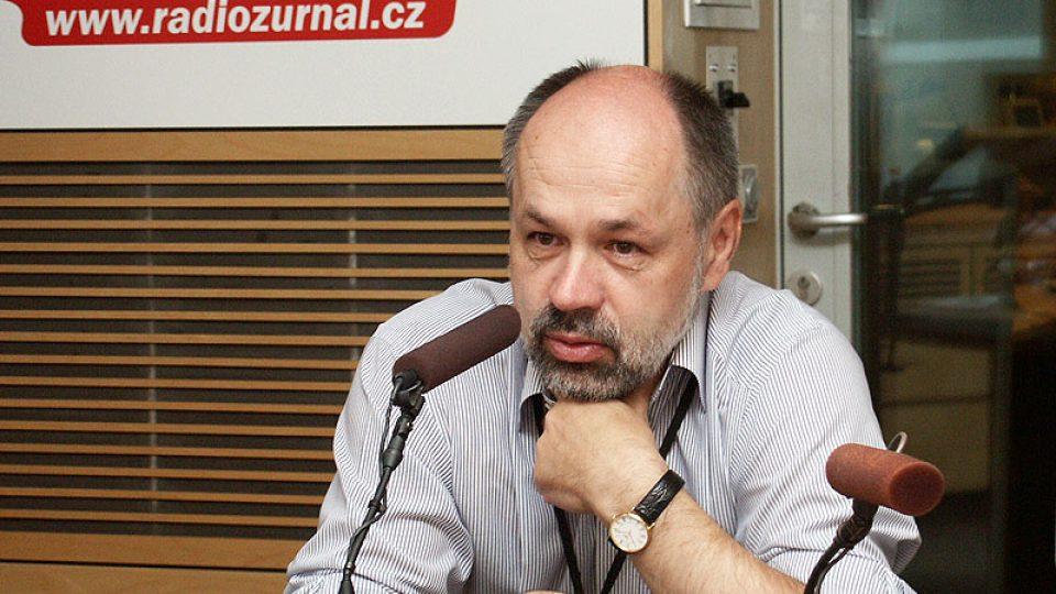 Politický analytik Jiří Pehe