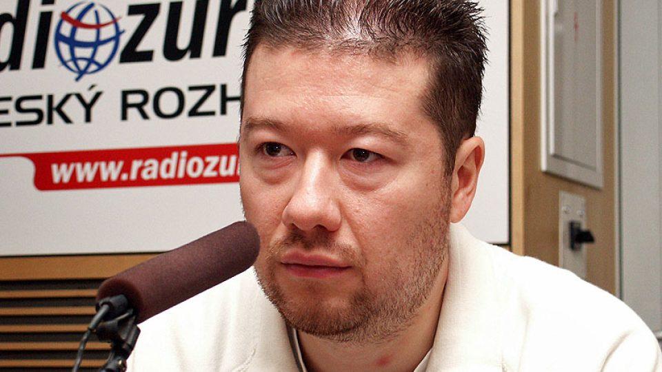 Tomio Okamura z Asociace českých cestovních kanceláří