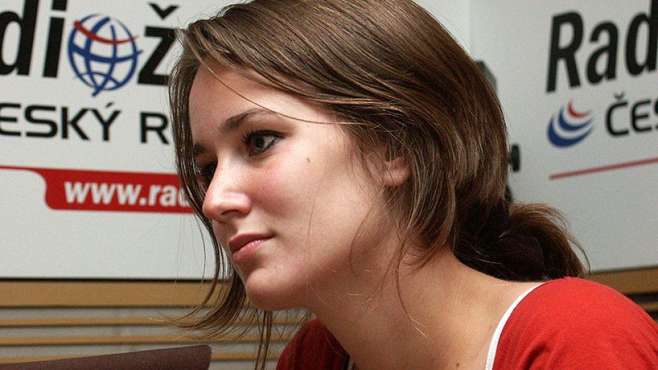 Olga Špátová přibližuje natáčení