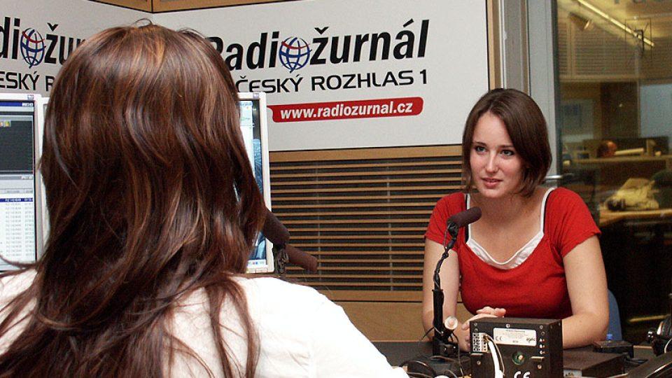 Olga Špátová a Lucie Výborná