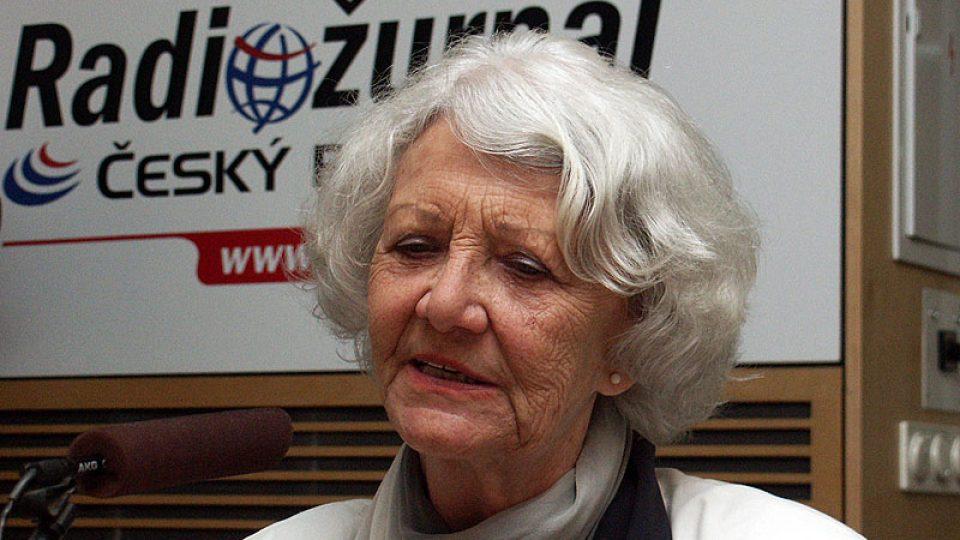 Heda Čechová vzpomíná na konkurs