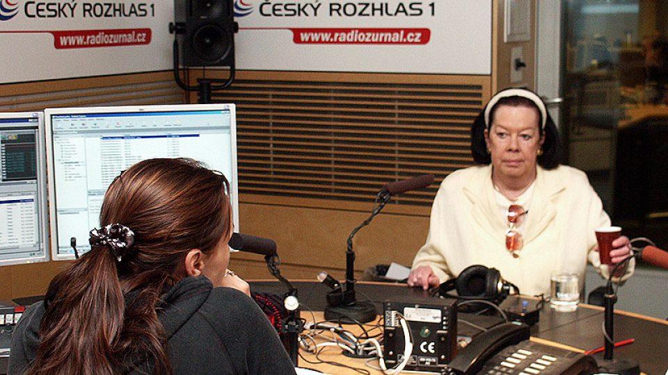 Zpěvačka a moderátorka Yvonne Přenosilová