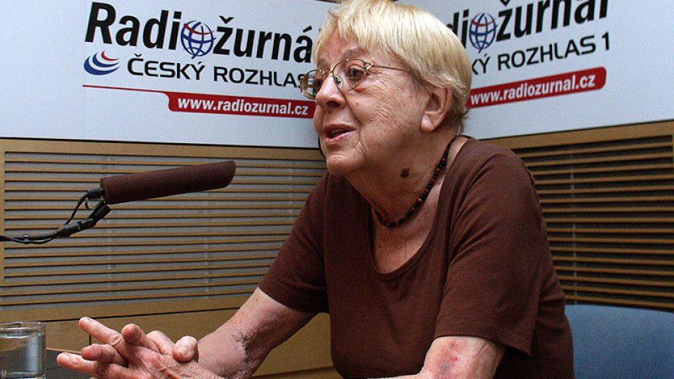 Publicistka a překladatelka Věra Šťovíčková-Heroldová