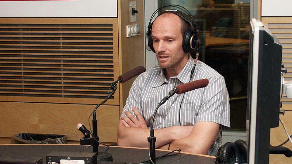 Rozhlasový reportér Petr Vavruška