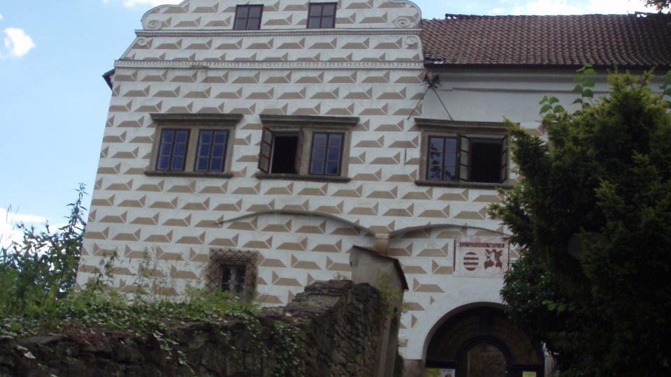Vstupní portál Košumberk