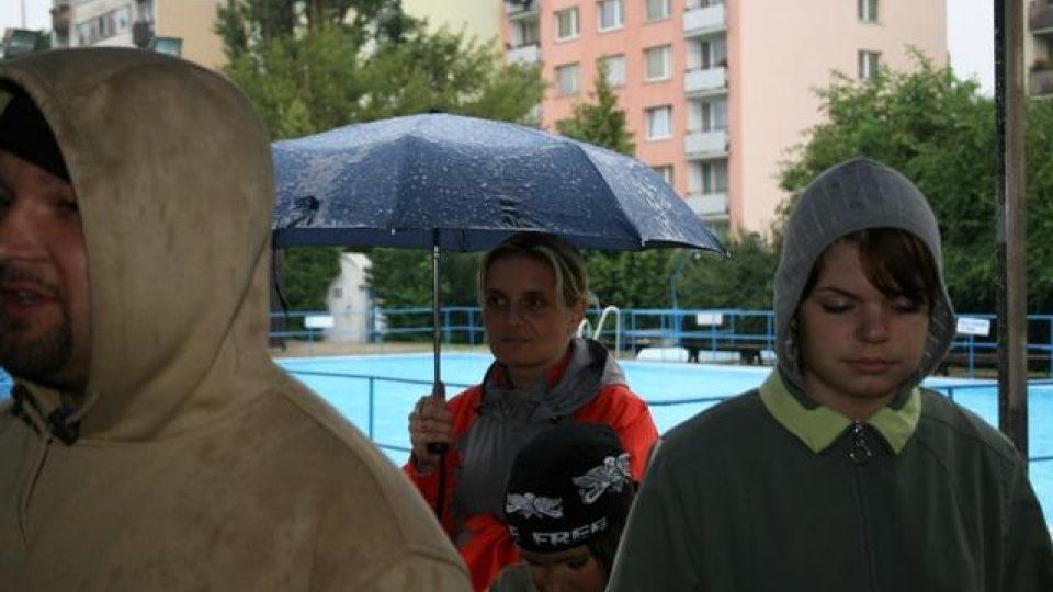 Léto u vody - 16.8.2008 Bazén Dukelská Benešov