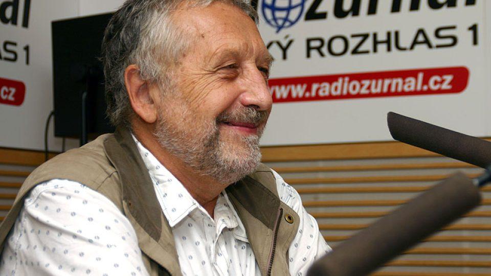 Spisovatel a zpěvák Vodňanský