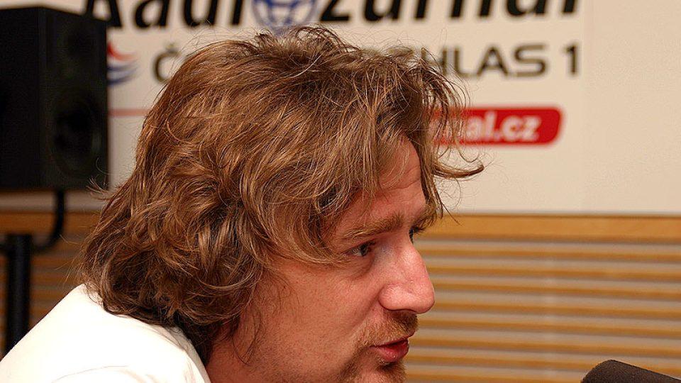 Novinář Janek Kroupa