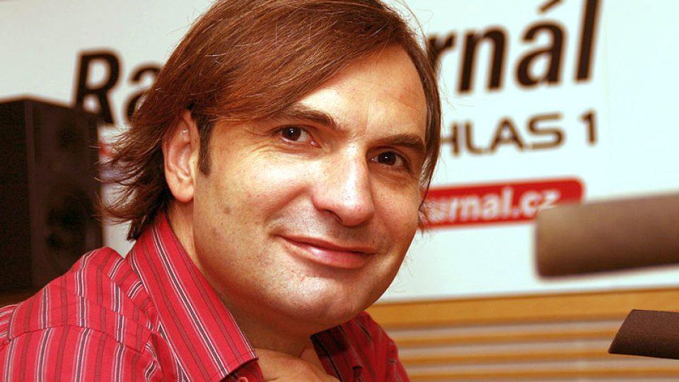 zpěvák skupiny Mig 21 Jiří Macháček