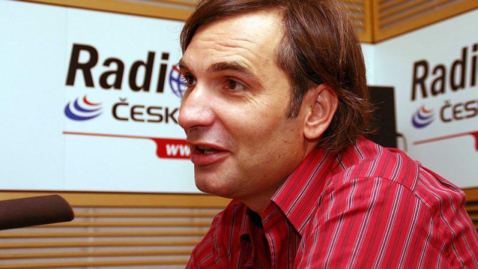 člen divadla Sklep Jiří Macháček